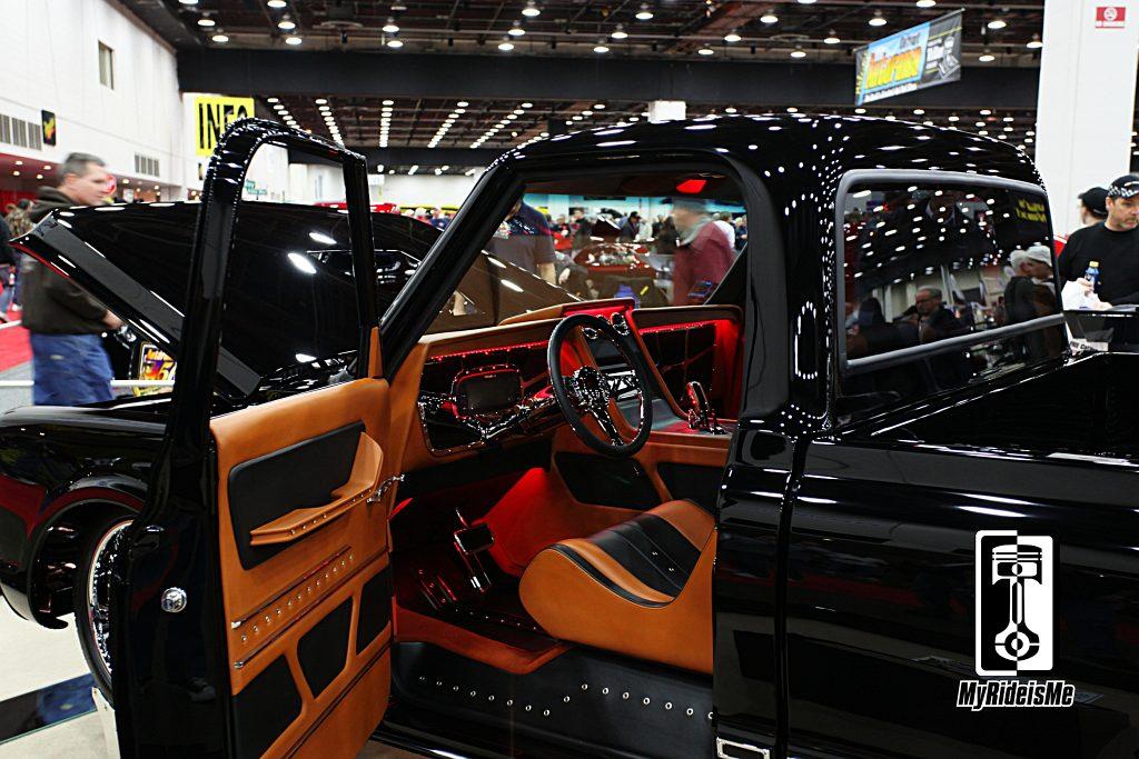 custom truck upholstery,Ridler Award 2013