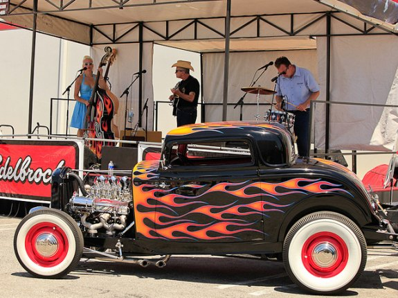 hot rod car show, edelbrock car show