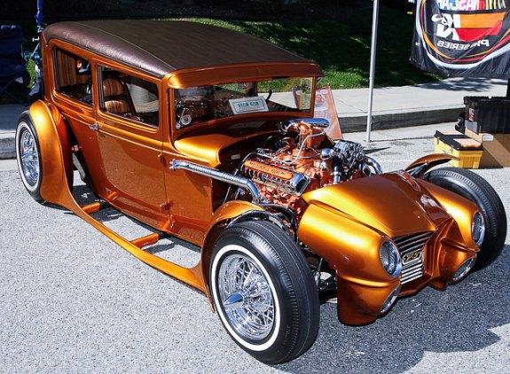 hot rod car show, edelbrock car show