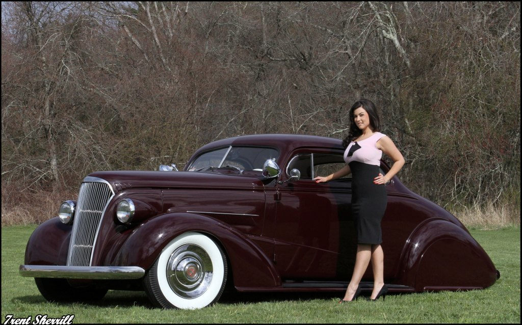 hot rod pinup, custom cars,37 Chevy Coupe, 1937 Chevy Custom