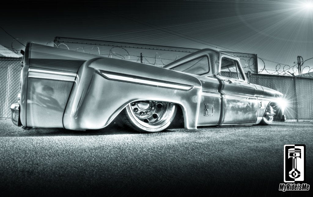 HDR car photography, c10 custom trucks, custom Chevy C10, custom c10