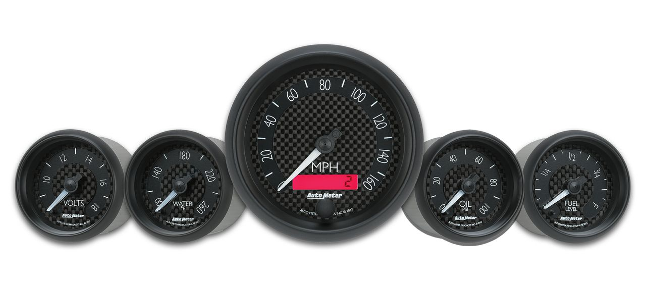 carbon face gauges