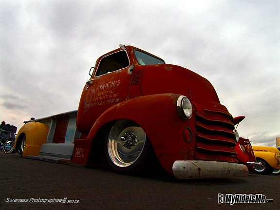 custom coe, air ride COE, laid out COE