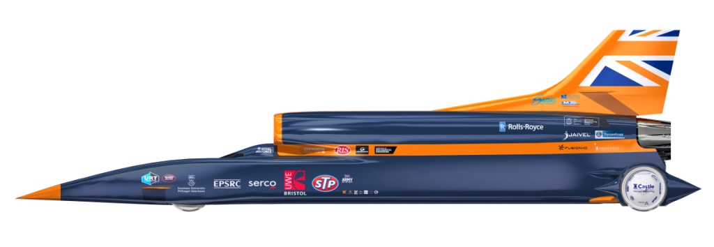 Bloodhound SSC, land speed race cars