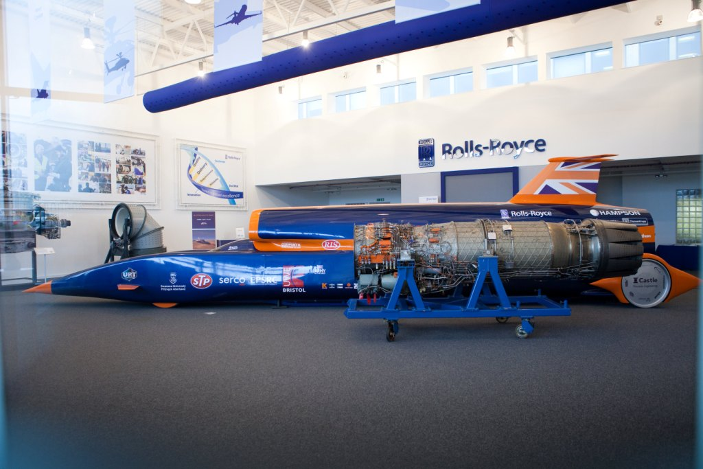 bloodhound SSC, 1000mph race car