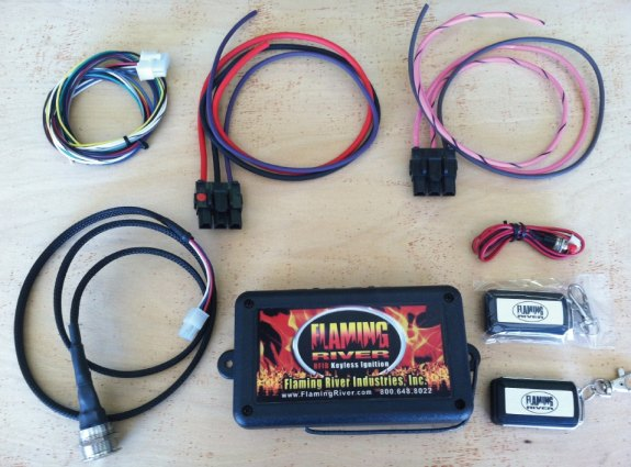 how to install keyless ignition, flaming river keyless ignition