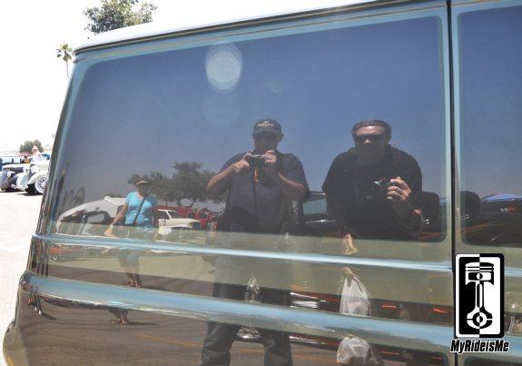 coby's van, econoline van,2013 LA Roadster Show