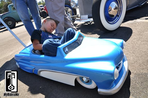 custom pedal car,2013 LA Roadster Show