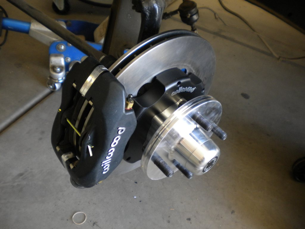 Ford Falcon Disc brakes, ford falcon, 4 lug disc brake kit