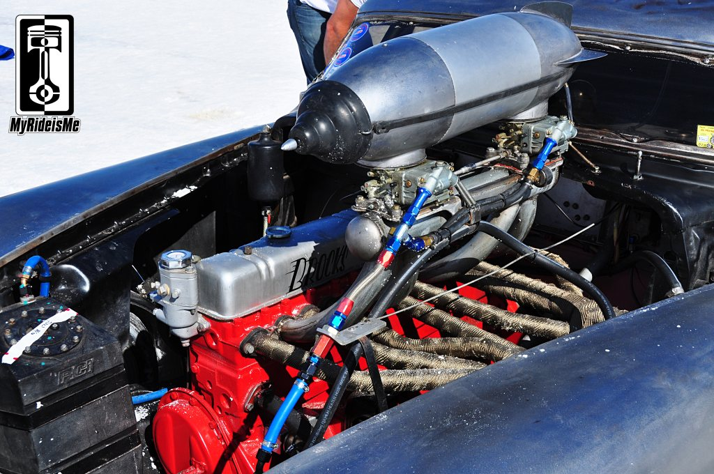 Buick straight 8, land speed racing, bonneville salt flats, 2013 Speed Week