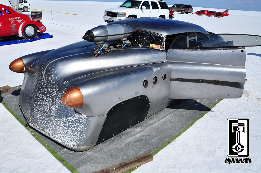 1952 Buick, land speed racing, bonneville salt flats, 2013 Speed Week
