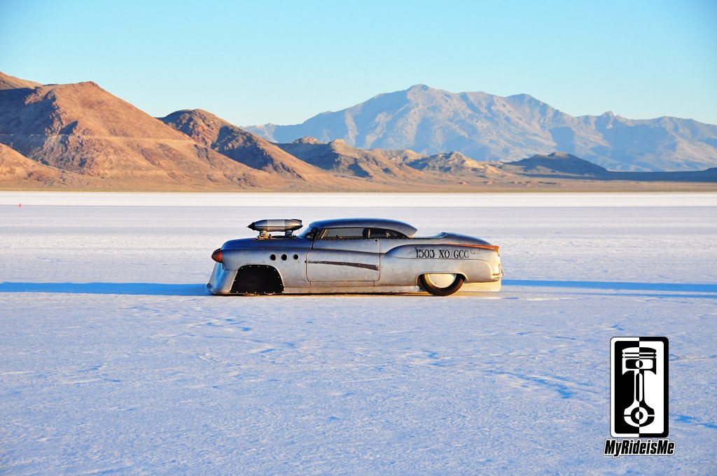 custom Buick, land speed racing, bonneville salt flats, 2013 Speed Week