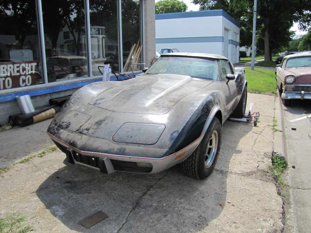 1978 Chevy Corvette, 1978 Chevy Corvette Pace Car, lambrecht auction, pierce nebraska auction