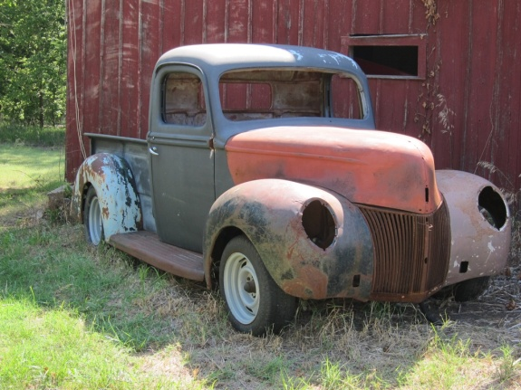 hot rods, 1940 Ford, 1940 Ford Hot Rod Pickup, custom 1940 Ford
