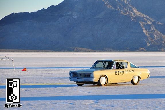 1966 Plymouth Barracuda, 2013 Bonneville Speed Week