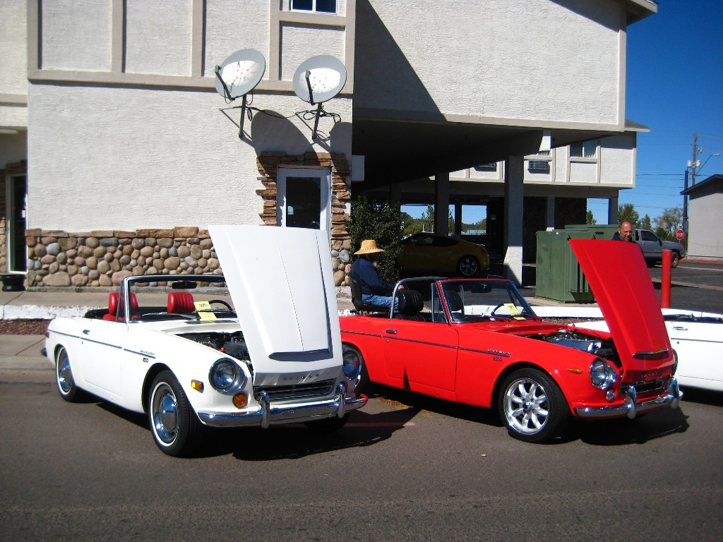 classic datsun car show, 1970 datsun roadster, japanese classic car show