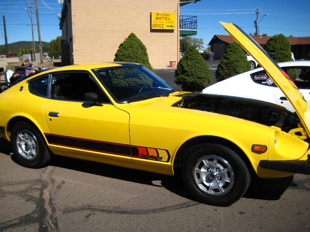 classic datsun car show, datsun roadster, datsun 280 ZZZAP, japanese classic car show