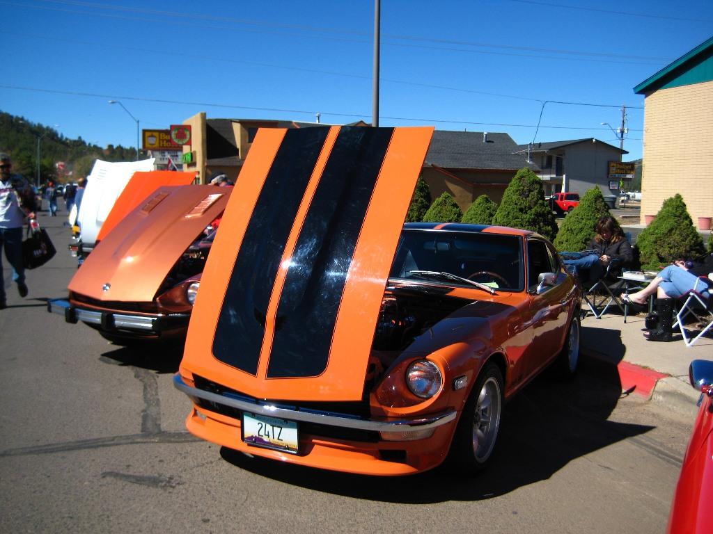 classic datsun car show, datsun roadster, datsun 510, japanese classic car show