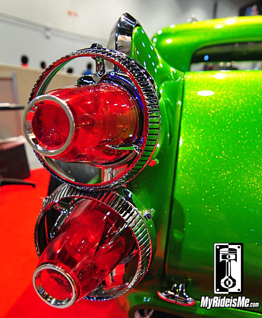 SEMA Show 2013, hot rods, 1940 Ford Hot Rod Pickup, 1960 Imperial Taillights