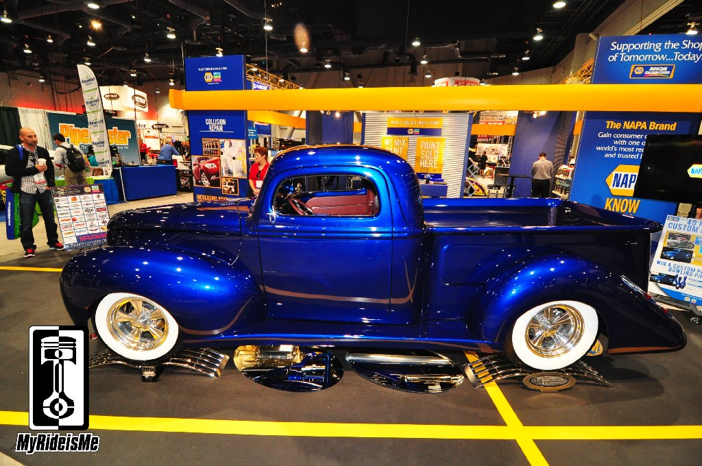Best of SEMA Show 2013 - 1940 Ford Hot Rod Pickup | MyRideisMe.com