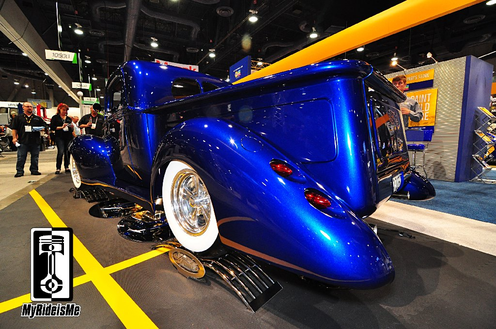 SEMA Show 2013, hot rods, 1940 Ford Hot Rod Pickup