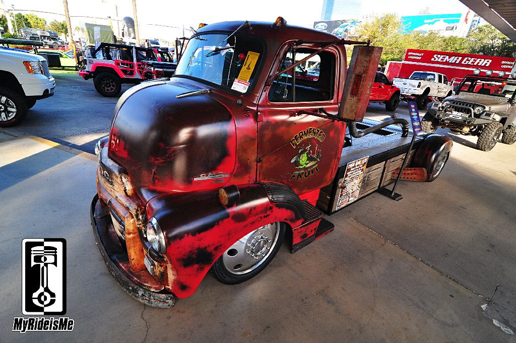 1954 Coe With 450hp Cummins At 2013 Sema Show Myrideisme Com