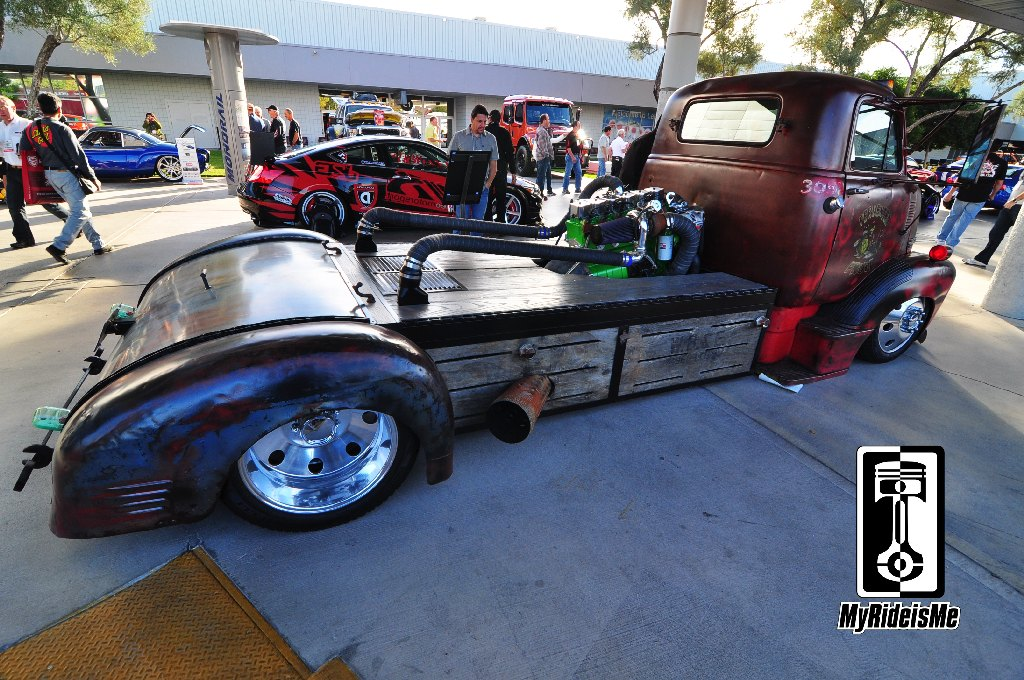 custom 1954 GMC COE, Welderup cars, SEMA Show 2013, custom GMC