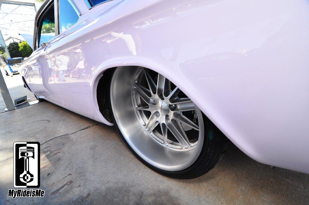 Custom Chevrolet Corvair, SEMA Show 2013, custom car pic