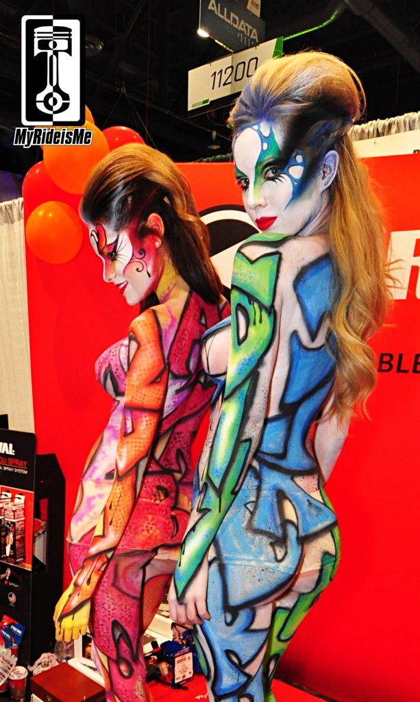 2013 SEMA show, sema Booth Babes, sema models, sema girls