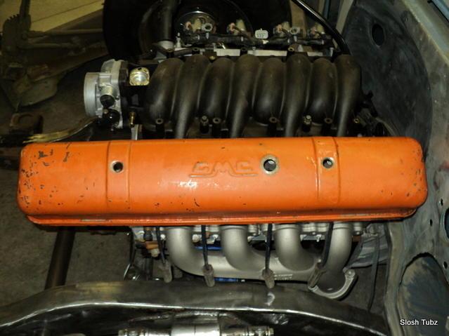 custom LS valve covers, ls powered gmc
