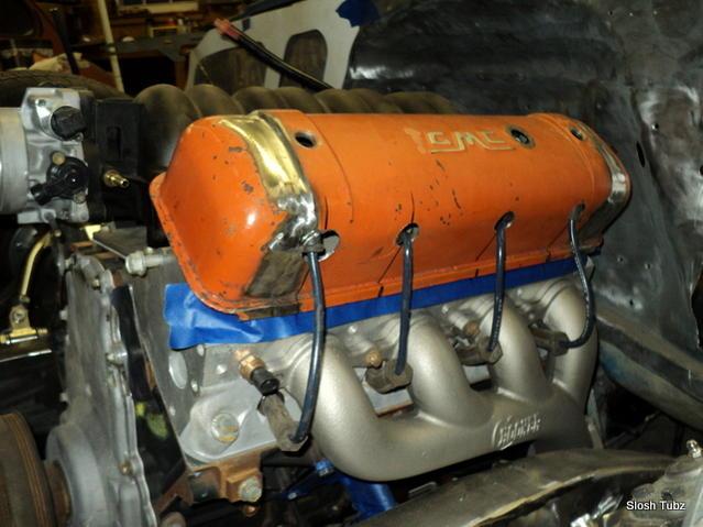 custom LS valve covers, ls powered truck