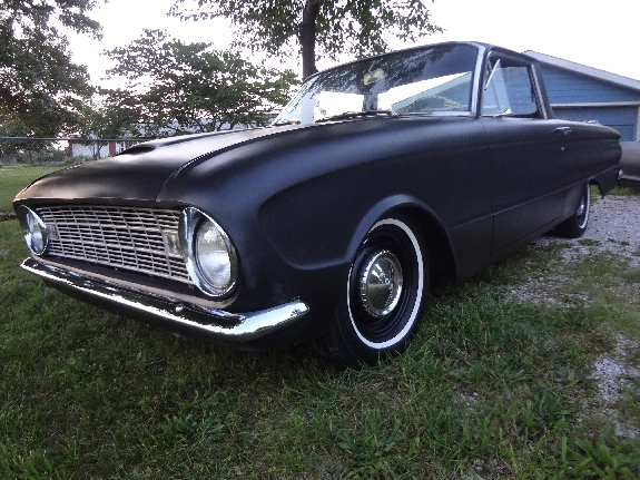 primer black hot rod,1961 Falcon Ranchero, Custom Ranchero