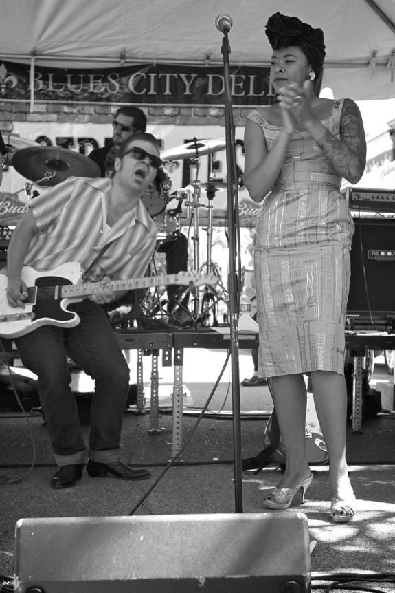 rockabilly band