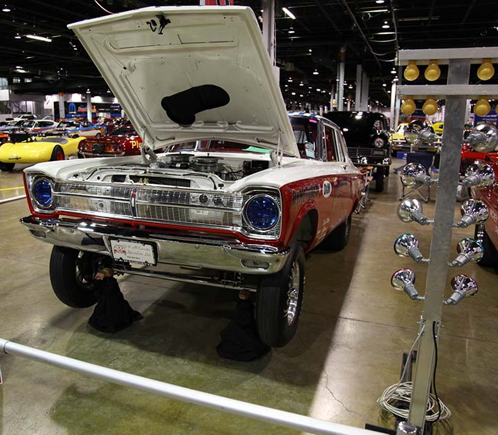 1965 Plymouth Belvedere A/FX, 1965 Plymouth Gasser, funny cars