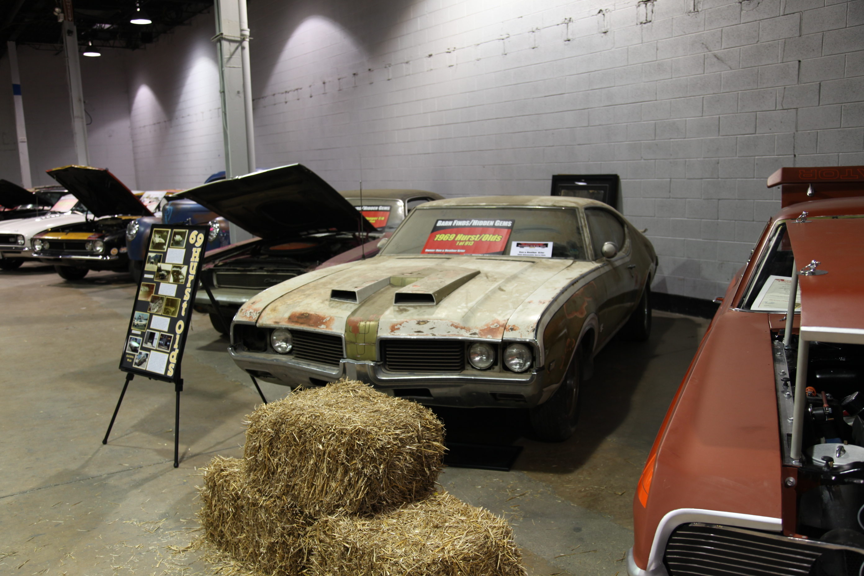 1969 Hurst Oldsmobile Olds Barn Find Finds