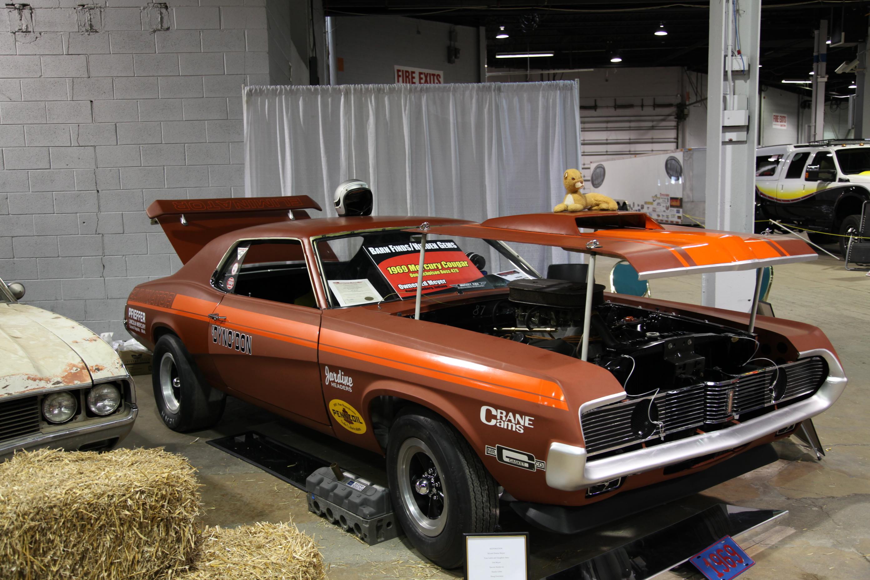 Boss 429, Boss 429 1969 Mercury Cougar, 69 Cougar