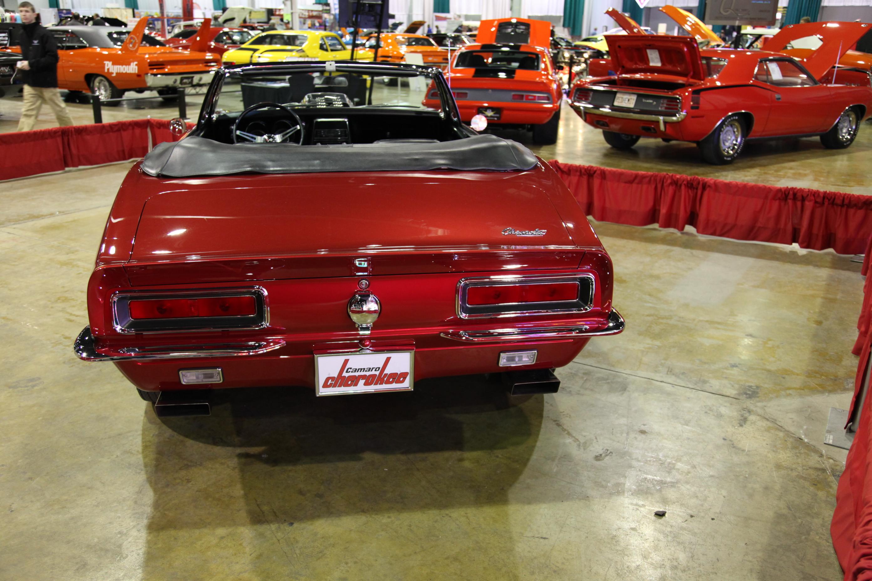 1967 Chevrolet Camaro Cherokee, rare custom Camaro