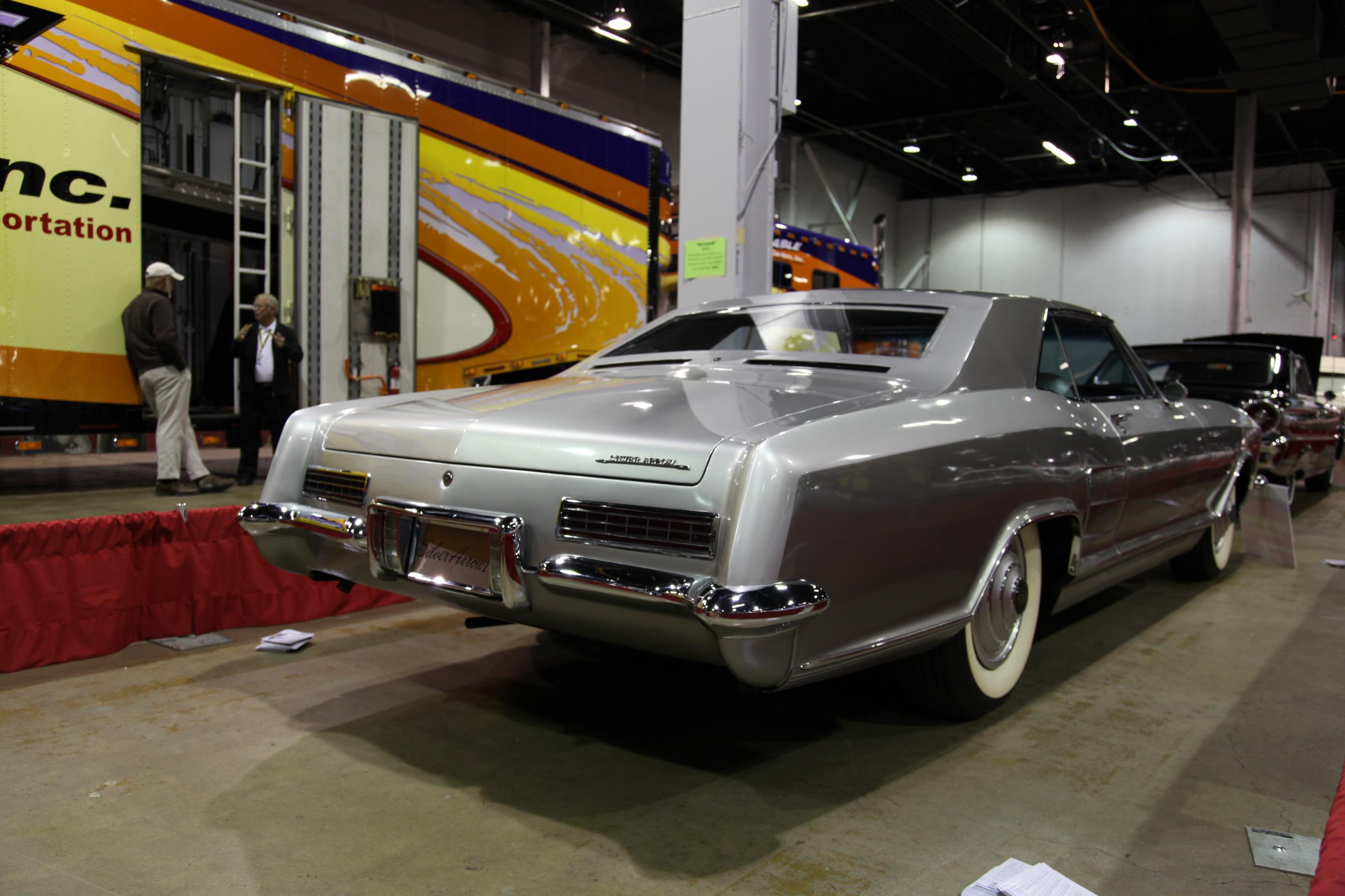1963 Buick Riviera Silver Arrow I, custom buick, custom buick riviera