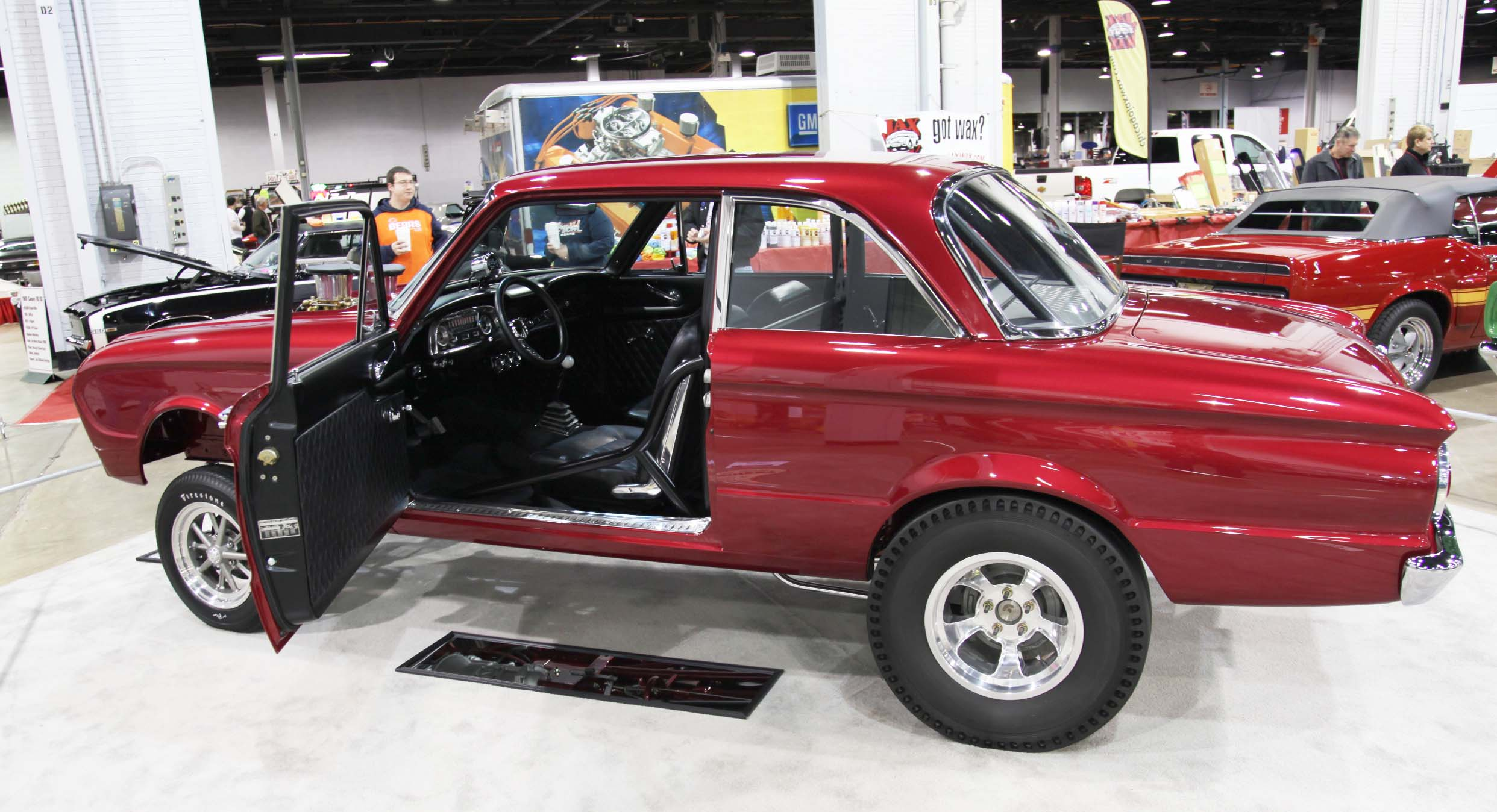 1962 Ford Falcon, falcon gasser, drag racing falcon
