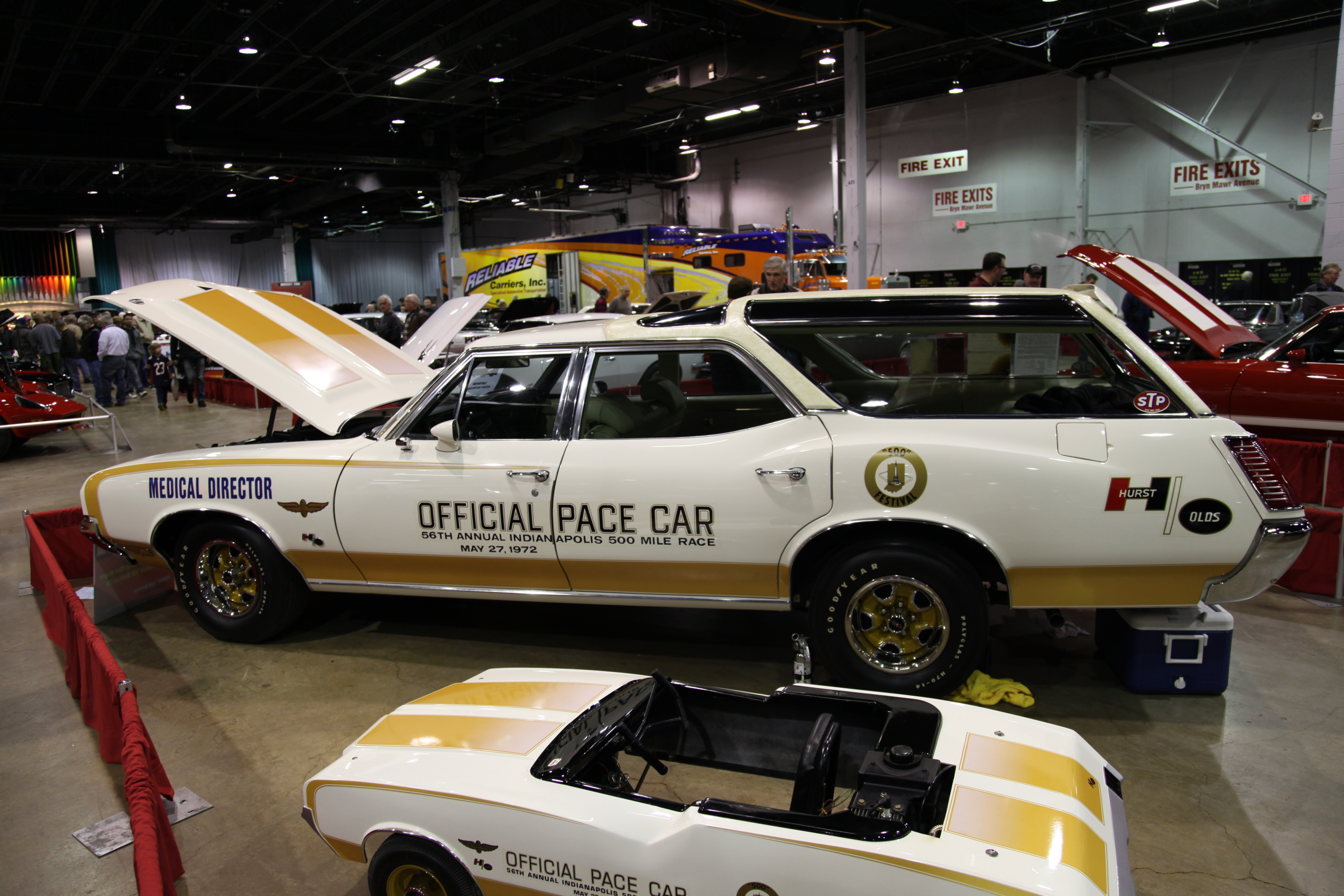 1972 Indy 500 pace car, pace car wagon, 1972 Oldsmobile wagon