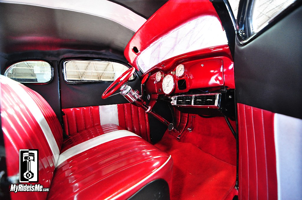 1935 Dodge Custom, 2014 Suede Palace, Suede Palace Customs, custom interior