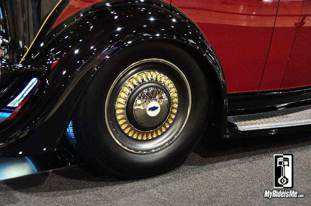 1935 Chevy Phaeton, 2014 America's Most Beautiful Roadster Winner, 2014 Grand National Roadster Show, GNRS, 2014 AMBR Winner