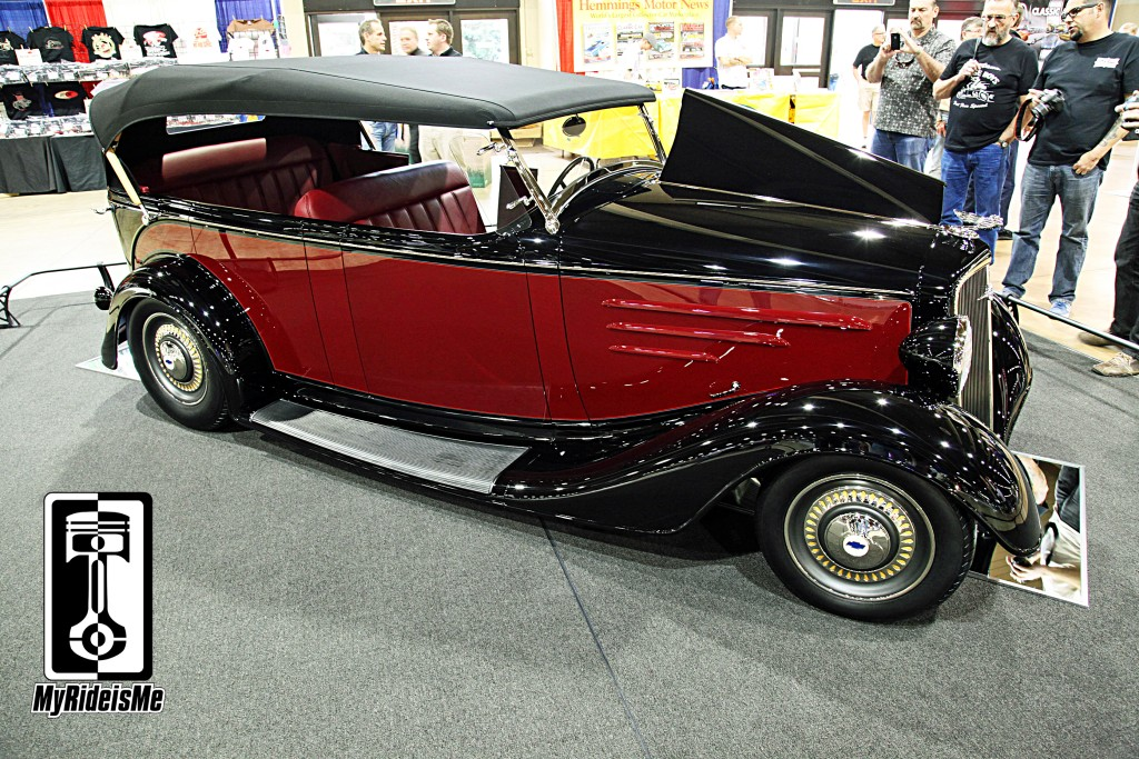 1935 Chevy Phaeton, 2014 America's Most Beautiful Roadster, 2014 Grand National Roadster Show, GNRS, AMBR