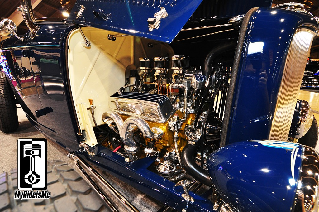 2014 America's Most Beautiful Roadster, 1932 Ford Roadster, custom chevy small block