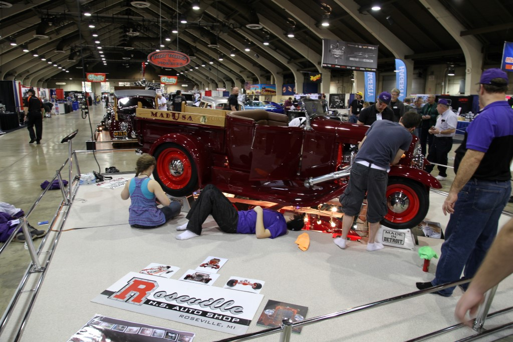 2014 GNRS, Grand national roadster show set up