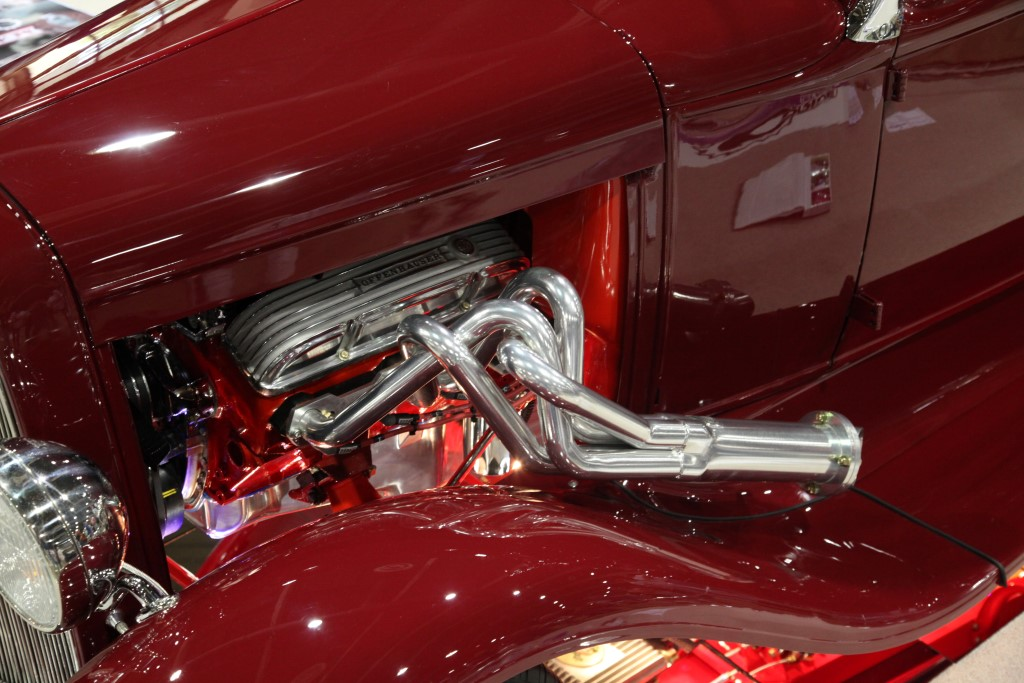 hot rod pickup engine