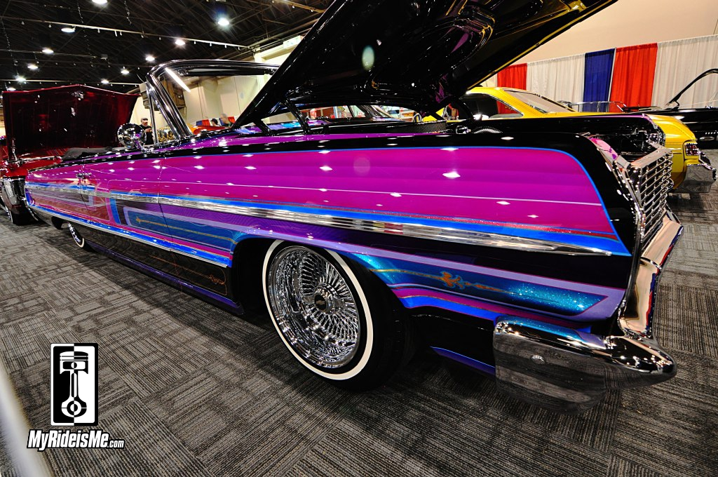 flaked and low lowrider custom paint at 2014 gnrs. Black Bedroom Furniture Sets. Home Design Ideas