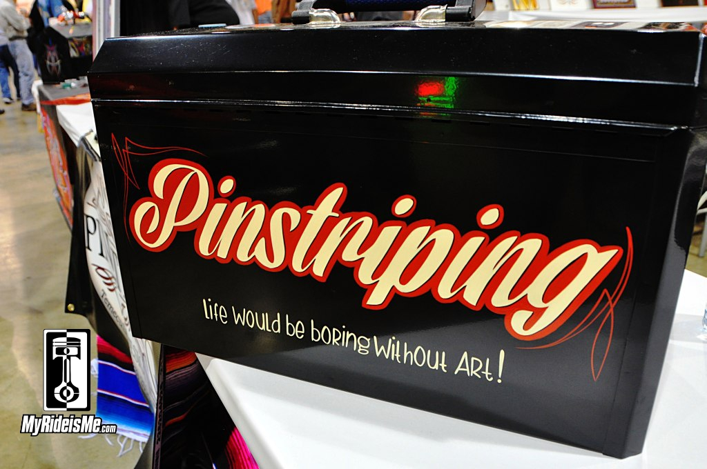 pinstriping design, pinstriping, 2014 Grand National Roadster Show
