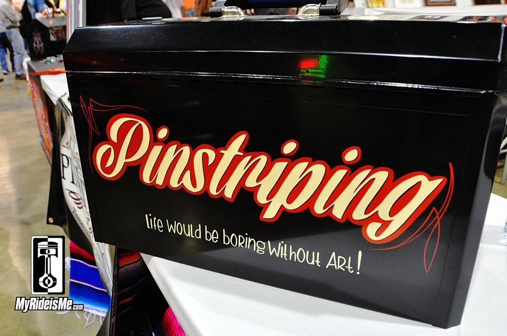 pinstriping design, pinstriping, 2014 Grand National Roadster Show