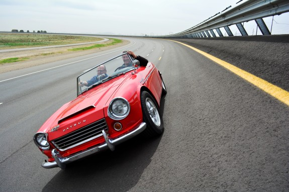 1967 Datsun Roadster, Roadster Roadtrip, Scott Fisher Datsun
